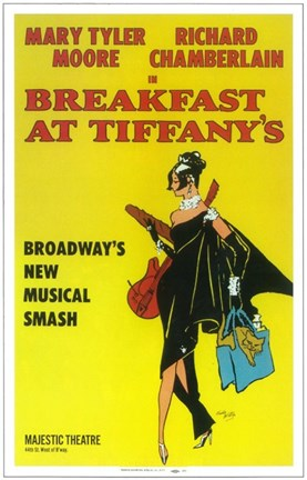 Framed Breakfast at Tiffanys (Broadway) Print