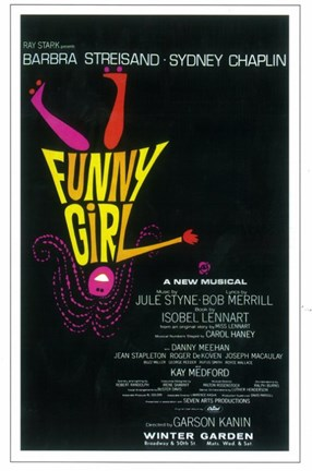Framed Funny Girl (Broadway) Print