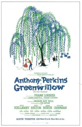 Framed Greenwillow (Broadway) Print