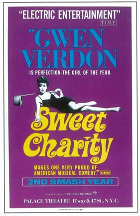 Framed Sweet Charity (Broadway) Print