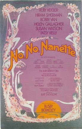 Framed No No Nanette (Broadway) Print