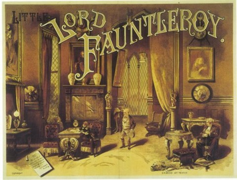 Framed Little Lord Fauntleroy (Broadway) Print