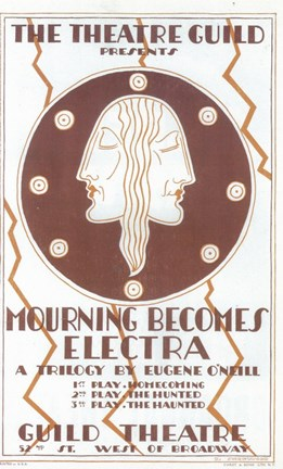 Framed Mourning Becomes Electra (Broadway) Print