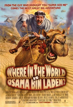 Framed Where in the World is Osama Bin Laden - camel back Print