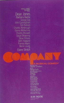 Framed Company (Broadway) Print