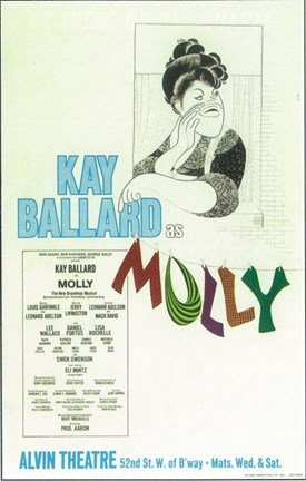 Framed Molly (Broadway) Print