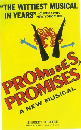 Framed Promises Promises (Broadway) Print