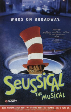 Framed Seussical (Broadway) - style A Print