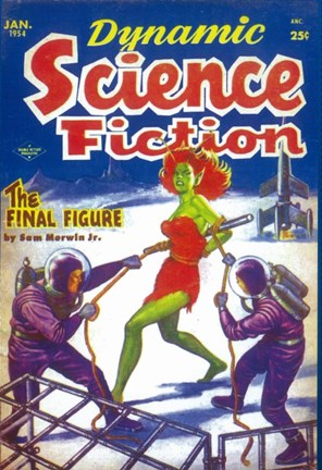 Framed Dynamic Science Fiction (Pulp) Print