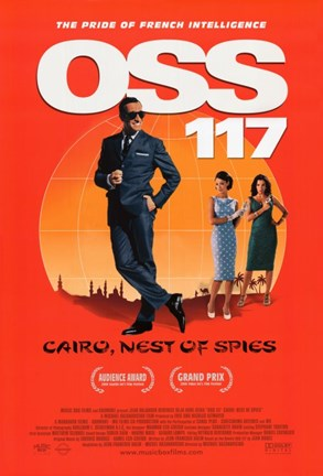 Framed OSS 117: Cairo Nest of Spies Print