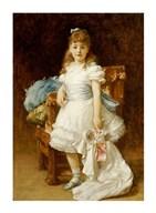 Lady Sybil Primrose  Fine Art Print
