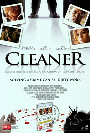 Framed Cleaner Movie Print