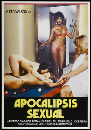 Framed Apocalipsis sexual Print