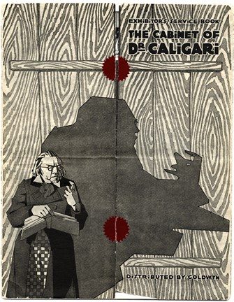 Framed Cabinet of Dr. Caligari - shadow Print