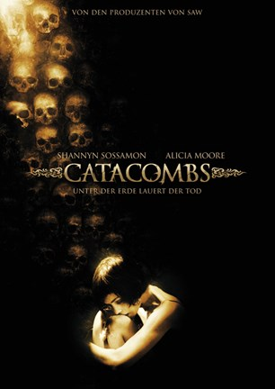 Framed Catacombs - Shannyn Sossamon Print
