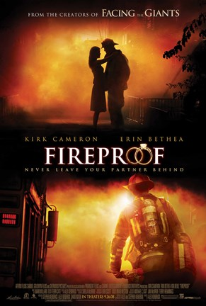 Framed Fireproof Firefighter Print