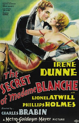 Framed Secret of Madame Blanche Print