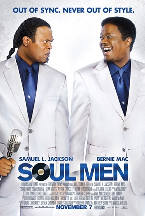 Framed Soul Men Print