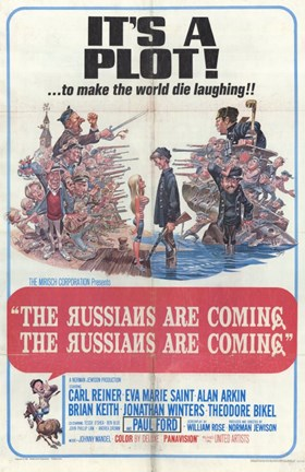 Framed Russians Are Coming Russians Are Coming Print