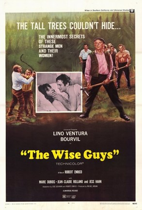 Framed Wise Guys Print