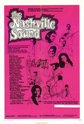Framed Nashville Sound Print