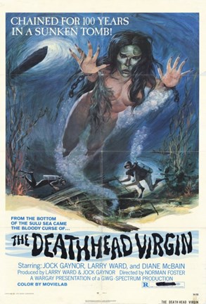 Framed Deathhead Virgin Print