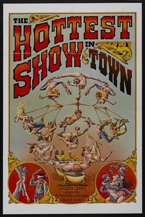 Framed Hottest Show in Town Print