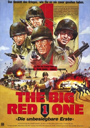 Framed Big Red One - movie Print