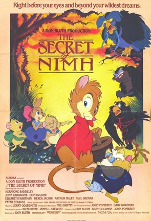 Framed Secret of NIMH Print