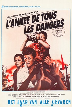 Framed Year of Living Dangerously (movie poster) Print