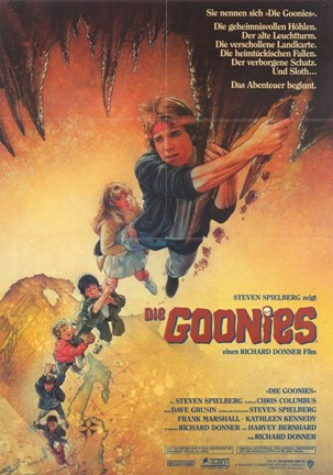 Framed Goonies - German Print