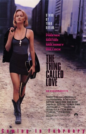 Framed Thing Called Love (movie poster) Print