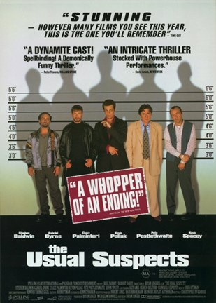 Framed Usual Suspects - a whopper of an ending Print