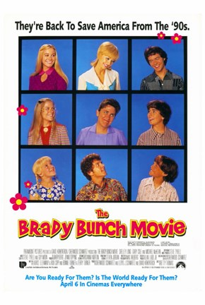Framed Brady Bunch Movie Print