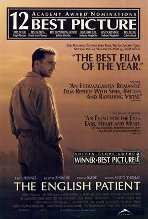 Framed English Patient - Winner best picture Print