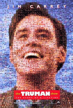 Framed Truman Show Jim Carrey Print