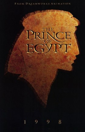 Framed Prince of Egypt 1998 Print