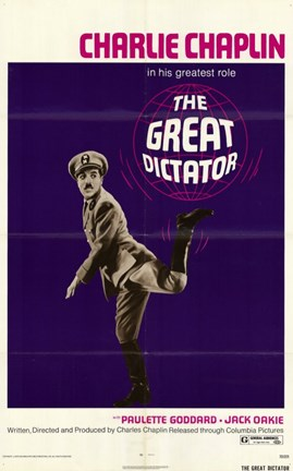 Framed Great Dictator Print