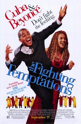 Framed Fighting Temptations Print