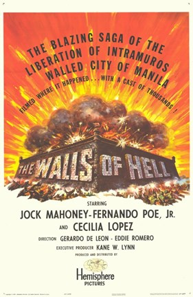 Framed Walls of Hell Print