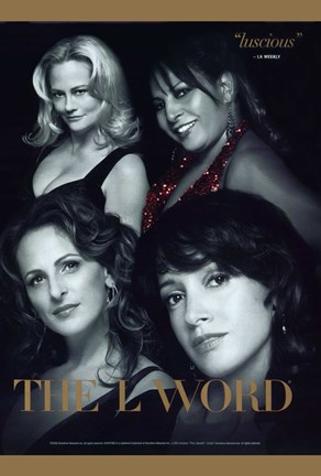 Framed L Word Main Characters Print