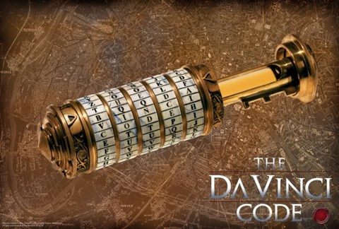 The Da Vinci Code Codex Fine Art Print By Unknown At
