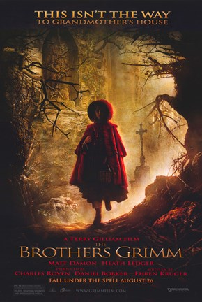 Framed Brothers Grimm - This isn't the way Print