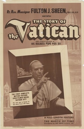 Framed Story of the Vatican Print