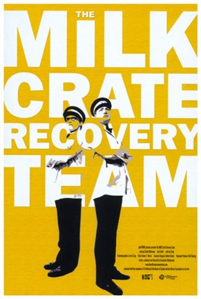 Framed Milk Crate Recovery Team Print