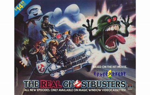 Framed Real Ghostbusters Print
