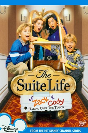 Framed Suite Life of Zack and Cody Print