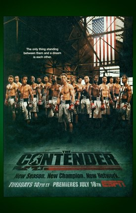 Framed Contender Boxing TV Series Print