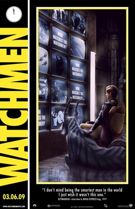 Framed Watchmen - style D Print