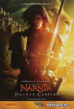 Framed Chronicles of Narnia: Prince Caspian - New age has begun Print